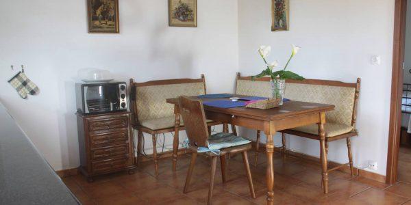 Essbereich Ferienhaus Casa Azul, Sao Miguel, Azoren
