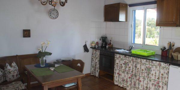 Essbereich und Küche Ferienhaus Casa Verde, Sao Miguel, Azoren